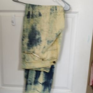 Old Navy tye and Dye men jeans